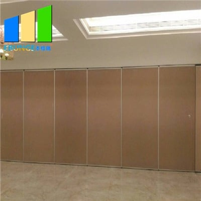Hotel partition walls