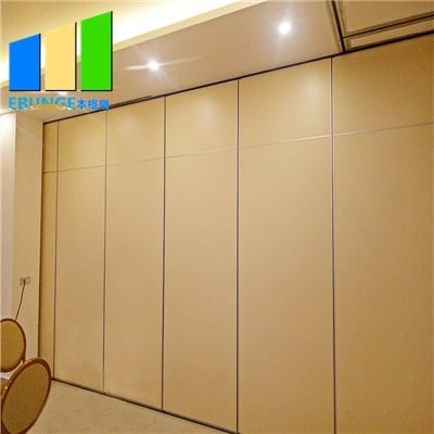 Soundproof folding wall partition