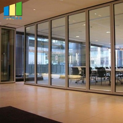BG65 office glass partition wall