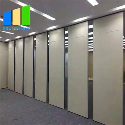 Classroom folding door