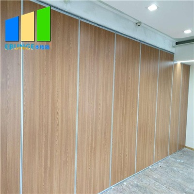 Folding partition walls