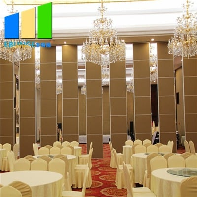 Chinese folding partition wall