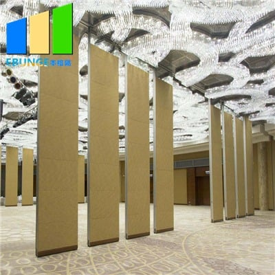 Fabric mobile partition walls
