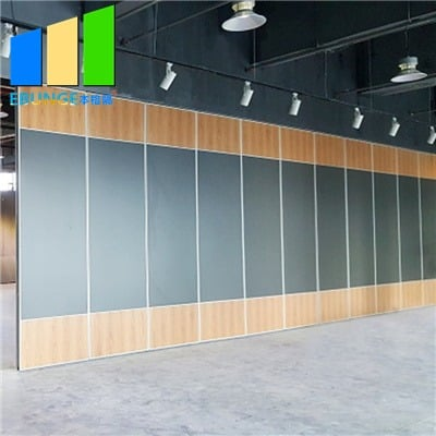 Operable partition foldable wall