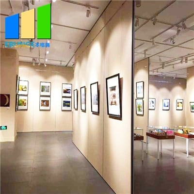 Exhibition partition walls