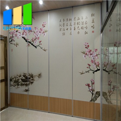 Removable partition wall for exhibition