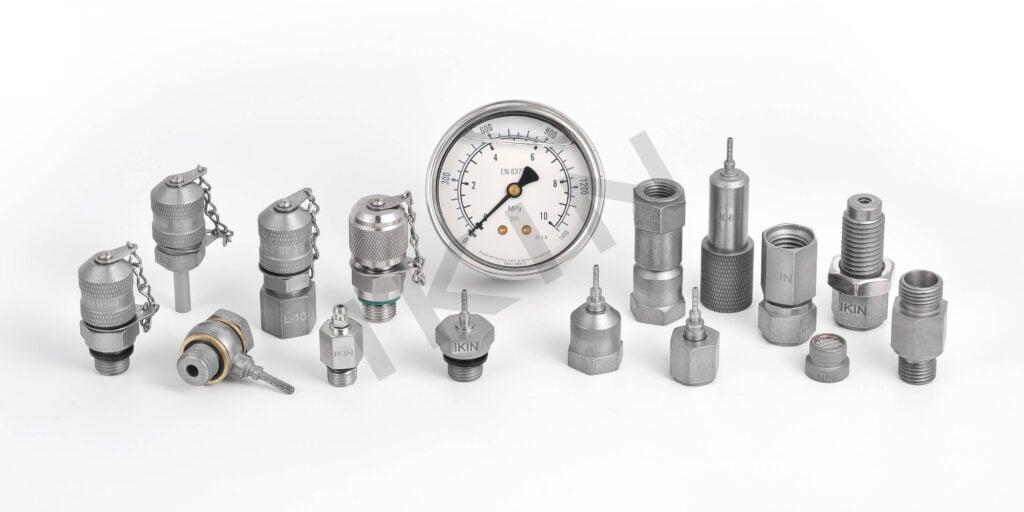 hydraulic test port fittings
