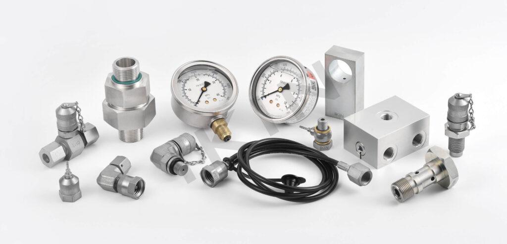 IKIN hydraulic pressure fittings