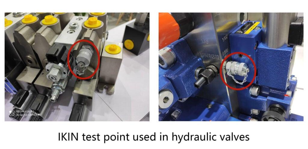 Punto di prova della pressione idraulica IKIN