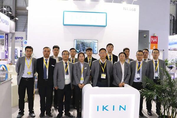 IKIN group photo in Bauma 2020 China