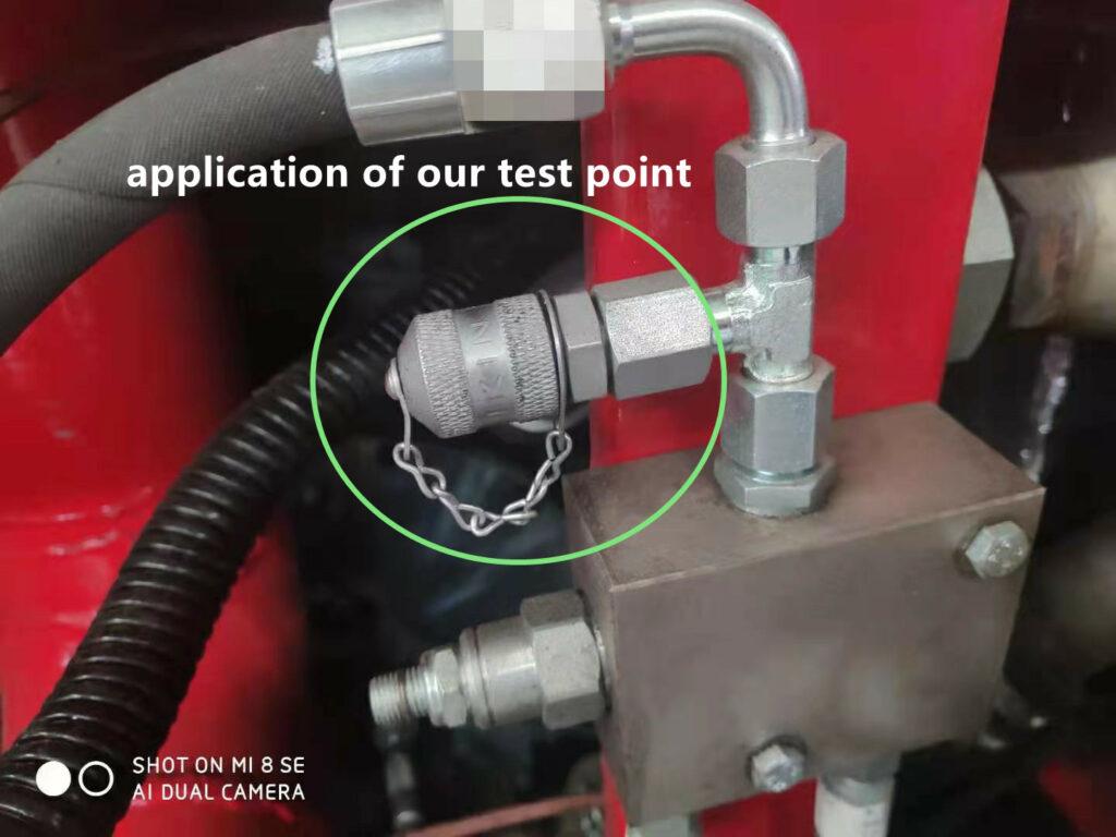 油圧テストポイントメーカー