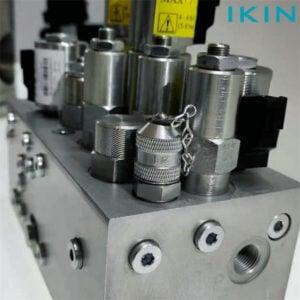 Ikin-Testpunkt im hydraulischen Rückschlagventil